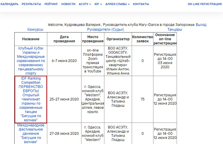 Асету регистрация екатерина зубкова